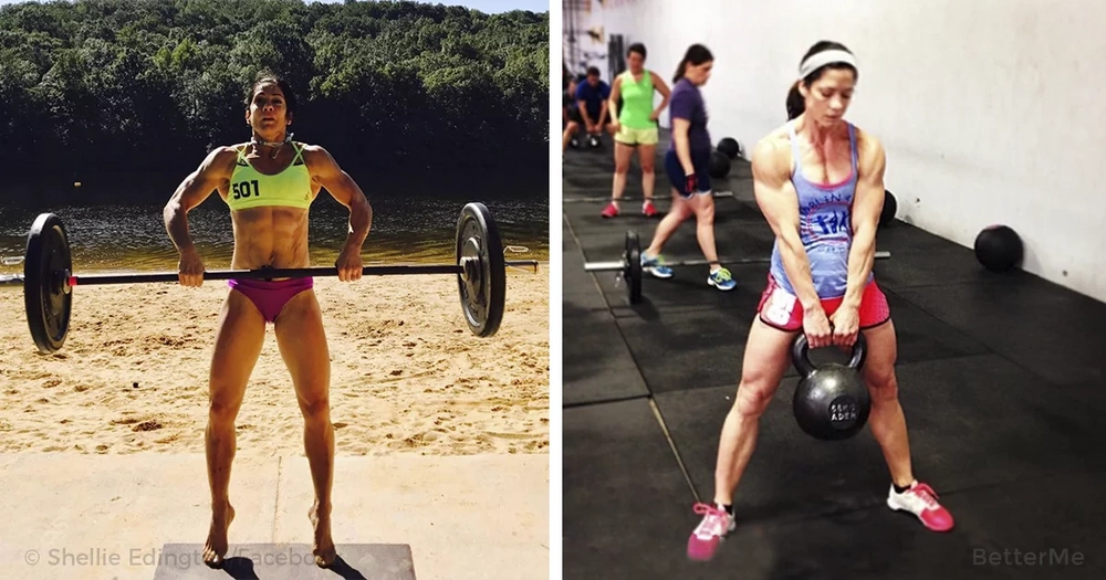 A 52-year-old woman went from not being able to do a push-up to winning the sport competition
