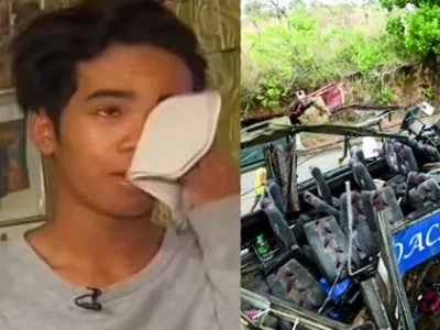 Tanay survivor: The driver said 'Sorry, nawalan ng preno' seconds before the tragedy