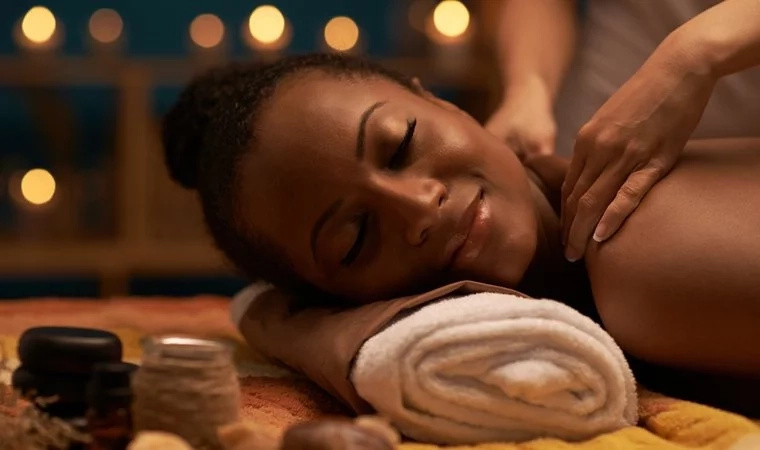 Here's the latest craze among women: cookie massages
