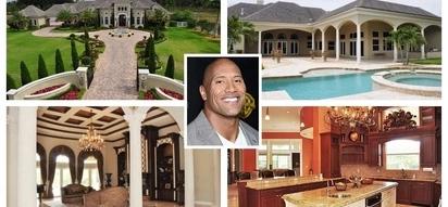 Nakakalula sa ganda! Dwayne 'The Rock' Johnson's house tour of his $3.4 million or P170M luxurious mansion