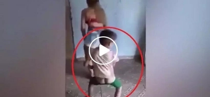 That was intense! Dancing Pinay brutally hits child after mocking her twerk video