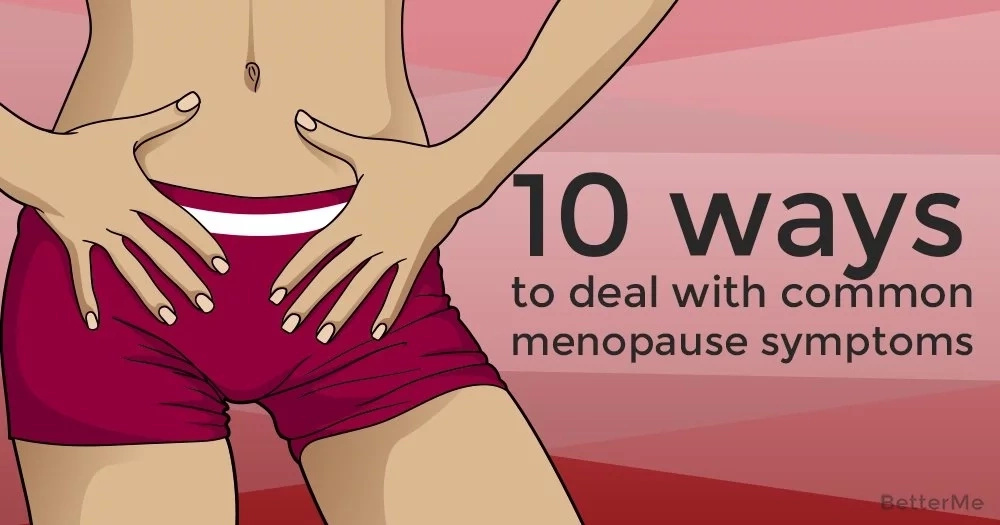 10 ways to deal with common menopause symptoms