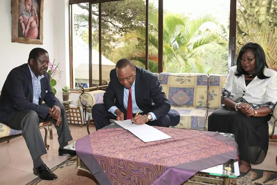 A look at President Uhuru-Raila Odinga's friendship