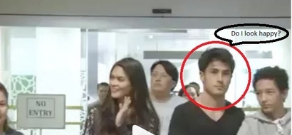 Marlon Stockinger looks pissed due to Pia Wurtzbach's fame in Brunei