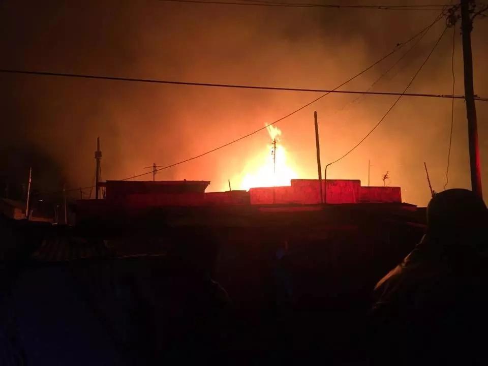 Kuwinda slum fire