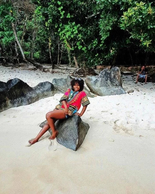 Sonkos daughter, Saumu Mbuvi shows off photos of her romantic vacation with her lover