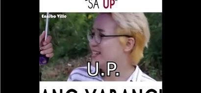 """""""San ka nag-aaral?.. sa UP.. ay yabang! Netizens' reactions to this are unexpected."""