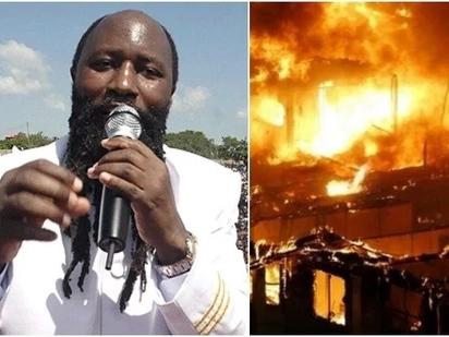 Ni kanisa la kishetani - Wananchi wachoma nyumba za waumini wa kanisa linaloongozwa na Prophet Owuor