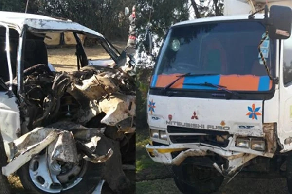 4 killed, 1 injured after lorry and saloon car collide in Nyeri