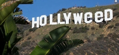 Defaced Hollywood Sign Read Hollyweed After New Year Prank