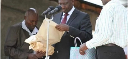 DP Ruto steals show at auction after purchasing 1000 goats for KSh 12 million