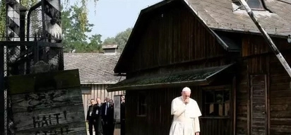 Pope Francis visits historical Nazi death camp