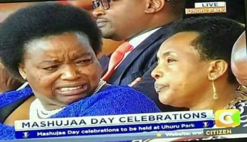 Was PS Monica Juma digusted at being seated beside Supreme Court judge Philomena Mwilu?