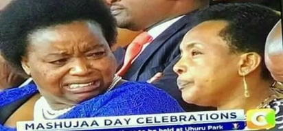 Foreign Affairs PS Monica Juma caught on camera openly showing disgust to unbothered Supreme Court judge