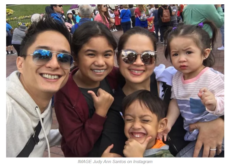 "This is how Judy Ann and her kids spend their ""no gadget day"""