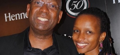 See Bob Collymore's wife response to Kenyans who called her a gold digger