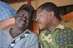 Raila and Wetangula take time off to drink at an undisclosed location (photos)