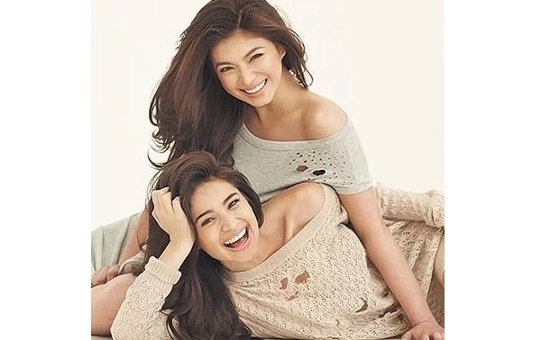 Talagang close sila! Video of Angel Locsin and Neil Arce hugging Anne Curtis after the wedding