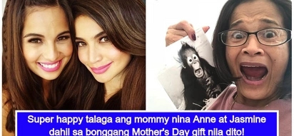 Ang suwerte ni mommy! Anne and Jasmine Curtis's expensive and 'bonggang' Mother's Day gift for their mom