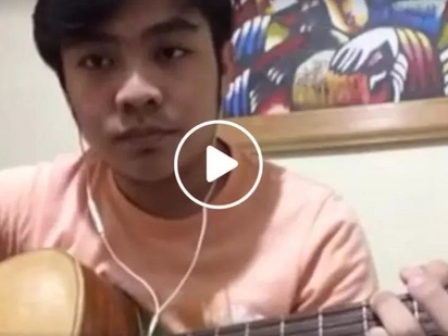 Pinoy online musician breaks social media channels with crazy cover of 'Silent'