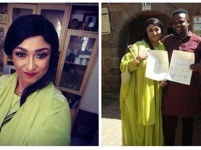 Papa Shirandula actress Fatuma gets married in low key Islamic ceremony