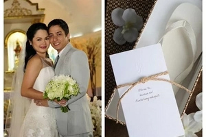 Happy 8th Anniversary Lovebirds! Judy Ann and Ryan celebrates Anniversary with Kids and a Kiss!