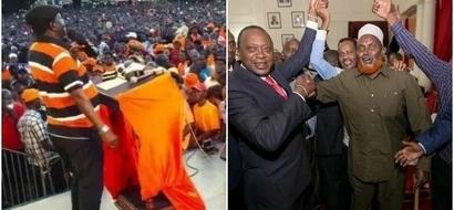 Uhuru receives defectors from ODM