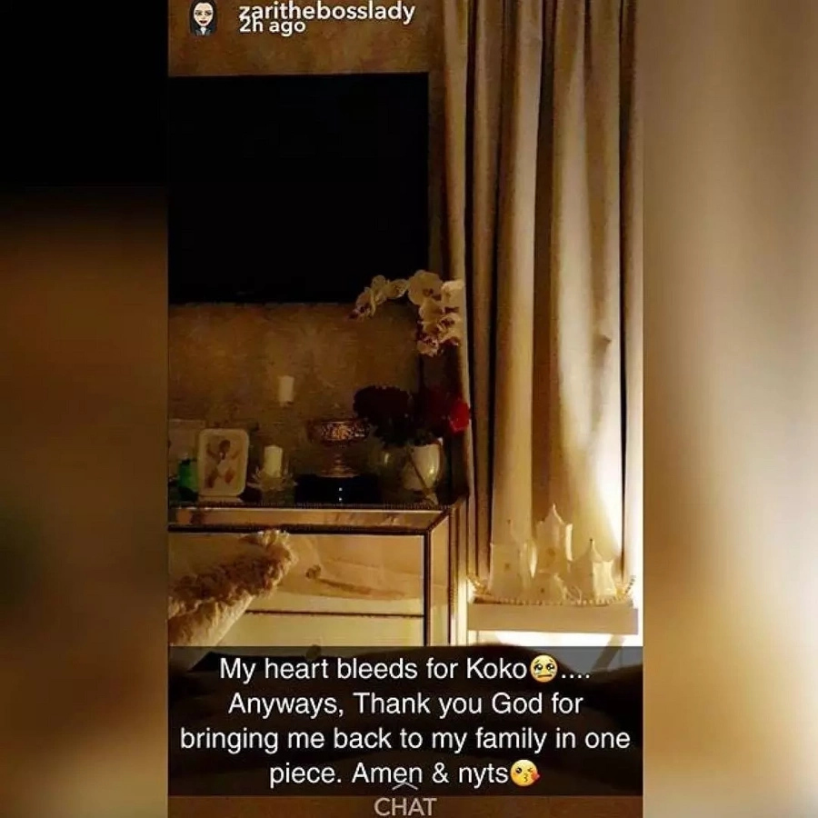 Diamond's ex-wife Zari sympathises with reality TV superstar Khloe Kardashian after her lover's cheating