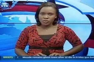 KTN news anchor Linda Ogutu is A WORRIED MUM after her daughter joined school