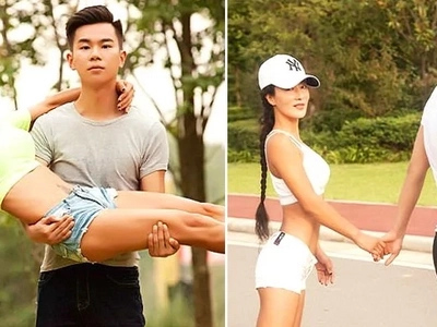 Netizens thought that this woman is this guy's girlfriend. It turned out that she is actually his mother! Find out the full story!