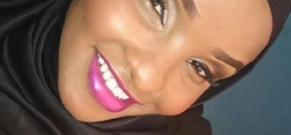 A rare photo of Citizen TV's Lulu Hassan without her traditional Hijab