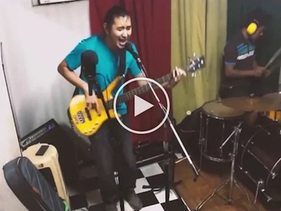 Local band attacks Marcos loyalists with a rock song