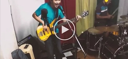 Filipino band rocks their heart out to Anti-Marcos original song