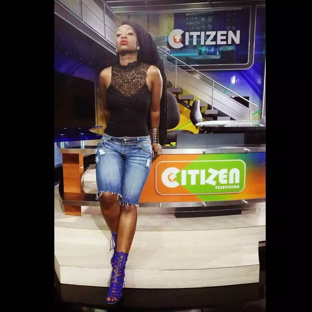 Check out the SUPER-EXPENSIVE German machine Citizen TV host Talia Oyando has just acquired (Photo)