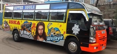PHOTOS: 8 Of Kenya's Most Outrageous Matatus