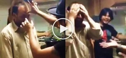 Ang lakas mang trip! Naughty OFWs prank confused Arab co-worker using hilarious magic trick