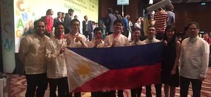 Filipino students win gold at international Math tilt