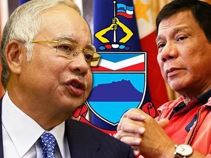 Najib vs the Punisher! Malaysian Prime Minister to DEFEND Sabah against Duterte