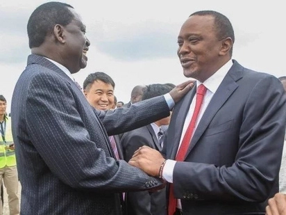 Raila and Uhuru set to meet for the first time after Supreme Court upheld Uhuru's victory