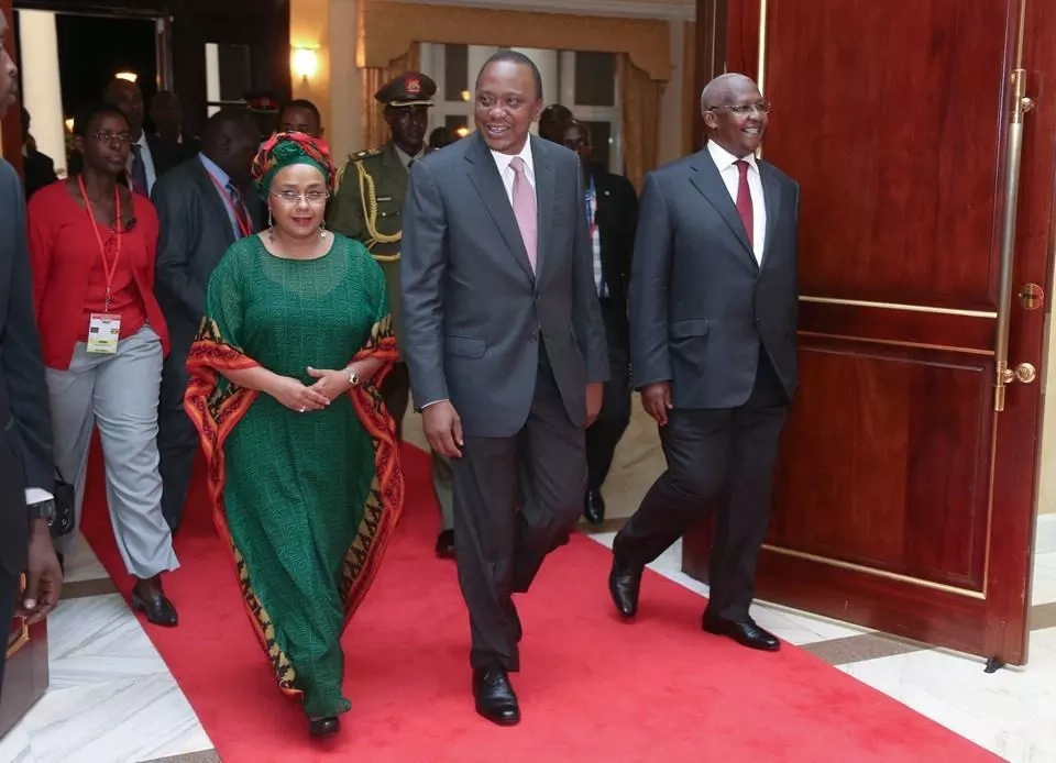 Margret Kenyatta reveals why her husband deserves a second term