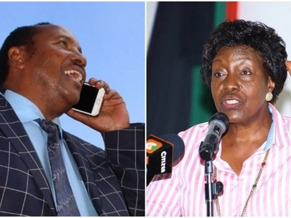 Ngilu, meets her 'enemy' Waititu for the first time after public spat over charcoal