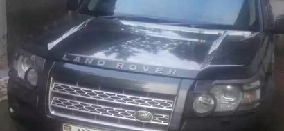 Car stolen from 2013 presidential aspirant's wife recovered