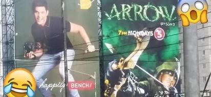 Naisahin nila ang GMA dun ah! Viral photo of Dingdong Dantes' billboard makes netizens praise TV5