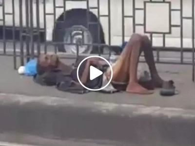 Nakaka-awa naman si lolo oh! Concerned netizen begs public to help old man in San Juan bridge