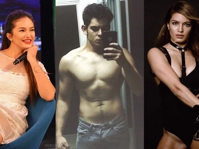 Ultimate Christmas wish! Sarah Lahbati goes bonkers on beau Richard's toned physique