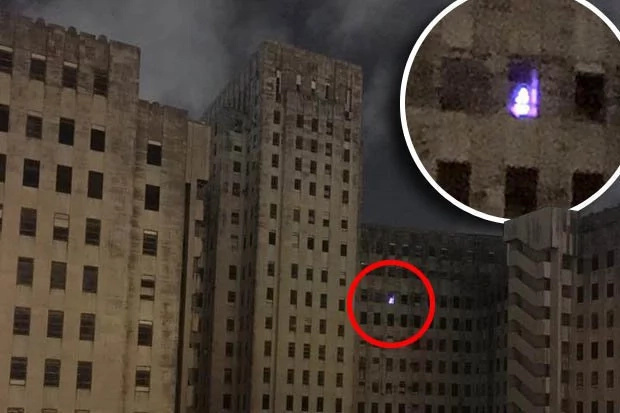 A nurse caught a picture of a ghost in an abandoned hospital!