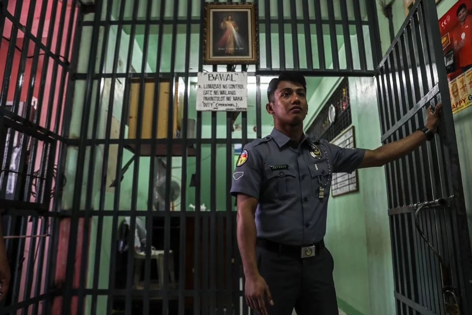 LOOK: An ex-detainee is back in jail by choice, this time on the other side of the bars