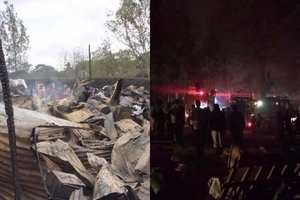SAD details of the Kuwinda slum fire that has left 6000 people homeless