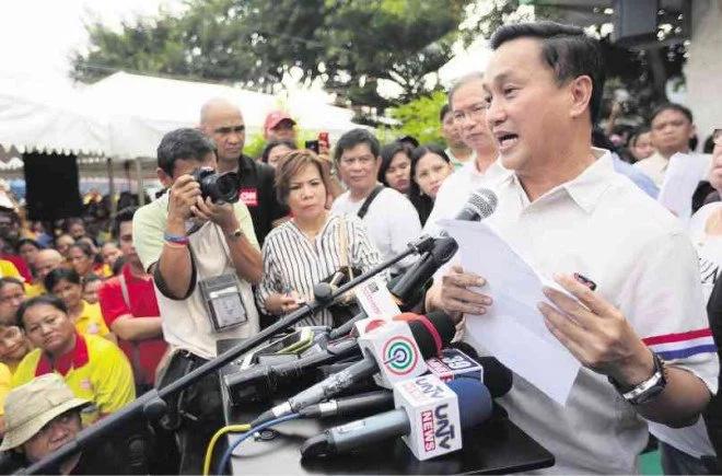Tolentino's TRO petition denied; 12 senators proclaimed