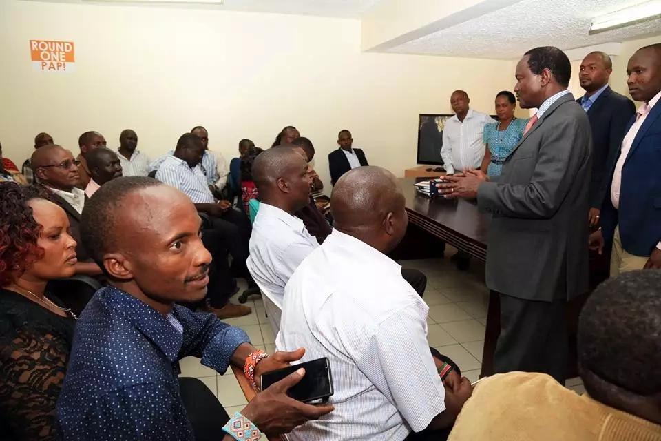 Kamba elders urge Kalonzo to dump Raila for Uhuru